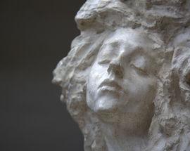 Скульптор Анна Голубкина
