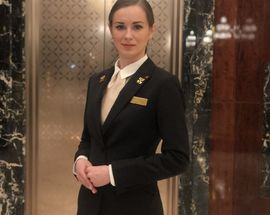 Mary Lechitskaya, concierge at Lotte Hotel St. Petersburg