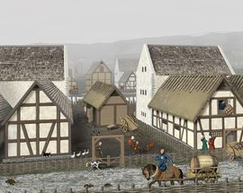 From stronghold to town – the birth of a Danish town 800 years ago