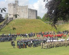 Firing Line: Cardiff Castle Museum of the Welsh Soldier