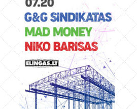 G&G Sindikatas, Mad Money, Niko Barisas