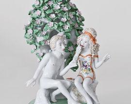 Forbidden Fruit. Sculptor Chris Antemann