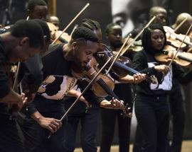 The Buskaid Soweto String Ensemble