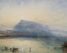 Turner: The Sea and the Alps
