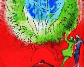 Marc Chagall – Colours of Love