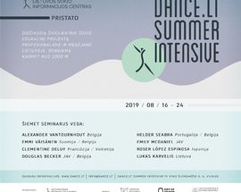 Dance.lt Summer Intensive'19
