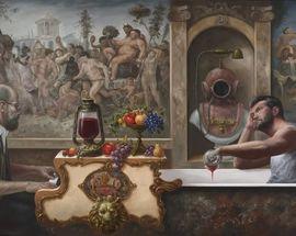 The Emperor Of Paint: Aurimas Eidukaitis' Painting Exhibition