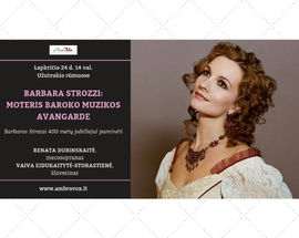 Barbara Strozzi: A Woman In The Avant-Garde Of Baroque Music