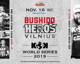 KOK World Series 2019 & Mma Bushido Hero's