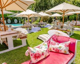 Lazy Days and Lawn Blankets at Fairlawns Boutique Hotel and Spa