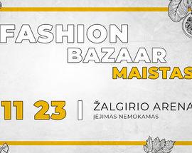 Fashion bazaar – MAISTAS /FOOD