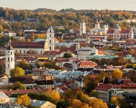 See Vilnius from 77 meters-high!