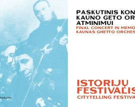 Final Concert in Memory of the Kaunas Ghetto Orchestra