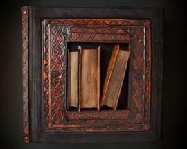 A Tribute to the Muses. Exhibition of Leonora Kuisienė Artistic Bookbinding
