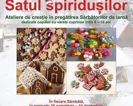 Satul spiridușilor // ateliere de iarnă