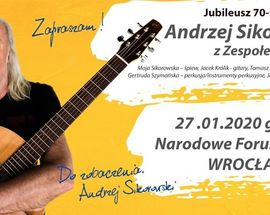 Andrzej Sikorowski's 70th Birthday, Concert with the Band