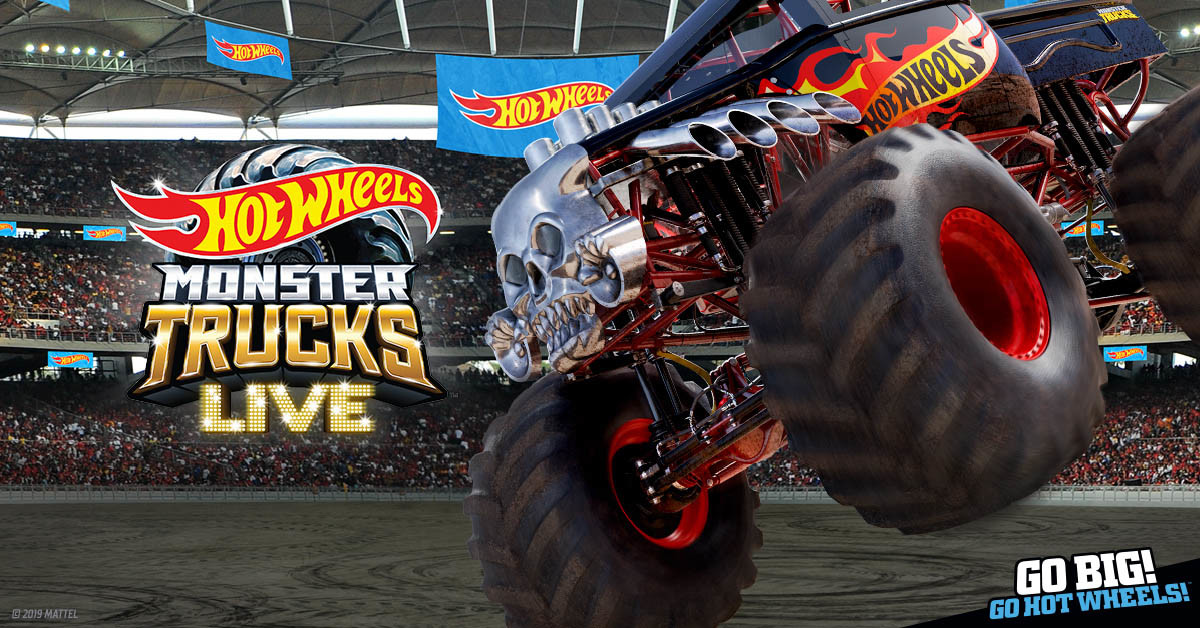 Hot Wheels Monster Trucks Live Atlas Arena Lodz