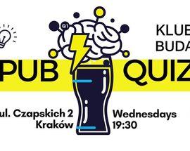 PUB QUIZ in English at Klub Buda