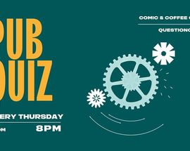 PUB QUIZ in English @Comic&Coffee Corner