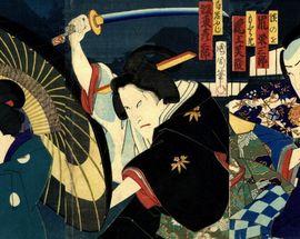 Kabuki. Japan's 19th-century ukiyo-e