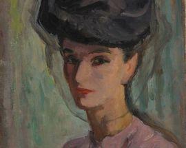 Self-portraits Vera Nedkova and Denitsa Boeva