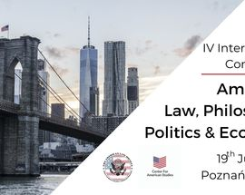American Law, Philosophy, Politics & Economy | Intl's Conference