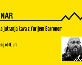 The Slovenia Webinar: Morning Coffee with Yuri Barron