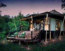 Camping and tented safari luxury in South Africa