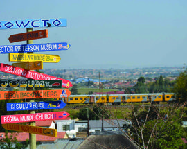 Cycling Soweto with Lebo's Soweto Backpackers