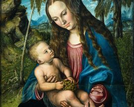 Madonna under the Fir Tree