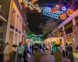Christmas Market at Melrose Arch