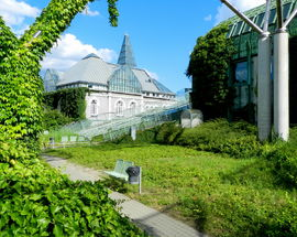 Warsaw University Library Rooftop Gardens