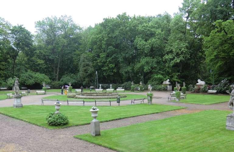łazienki Park Sightseeing Warsaw