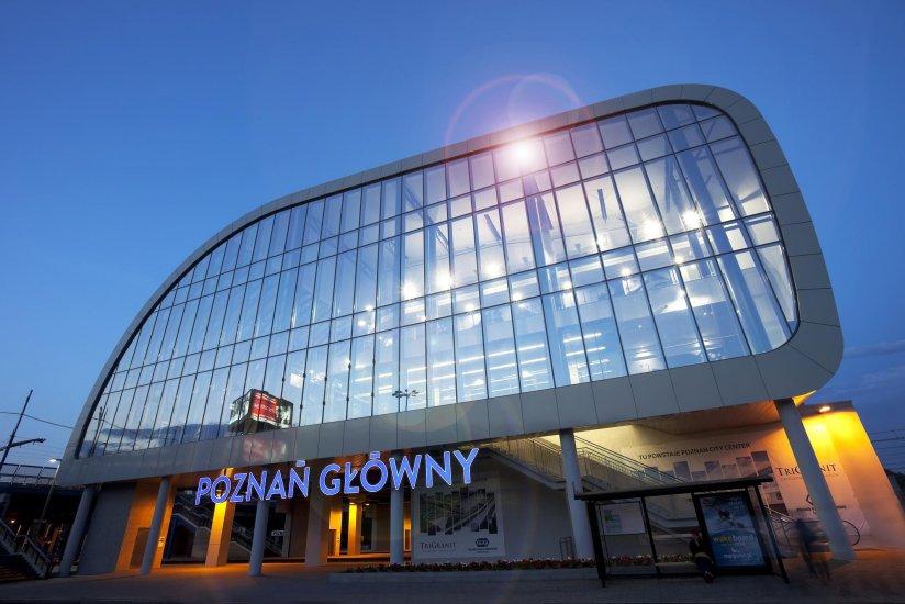 Poznan Main railway station
