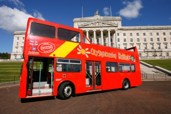Open top bus belfast