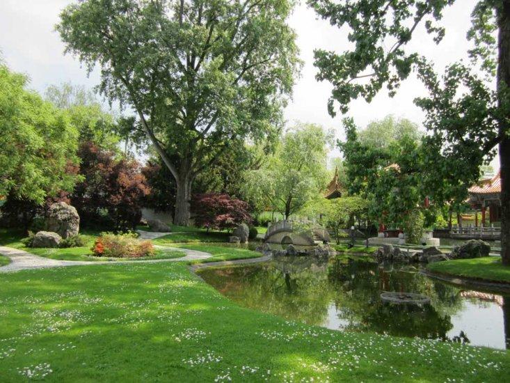 Chinese Garden Sightseeing Zurich