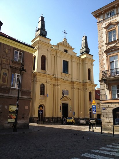 St Francis Seraph Church Sightseeing Warsaw