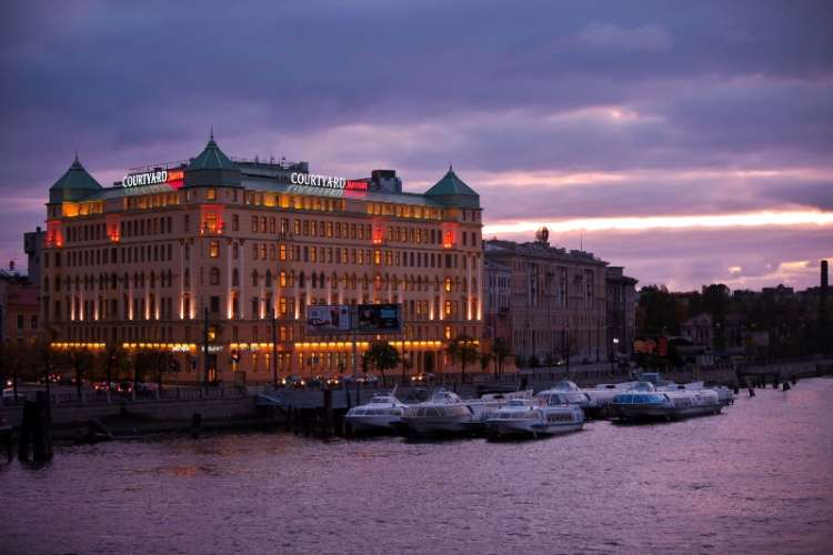 Courtyard Marriott Vasilievsky Hotel St Petersburg