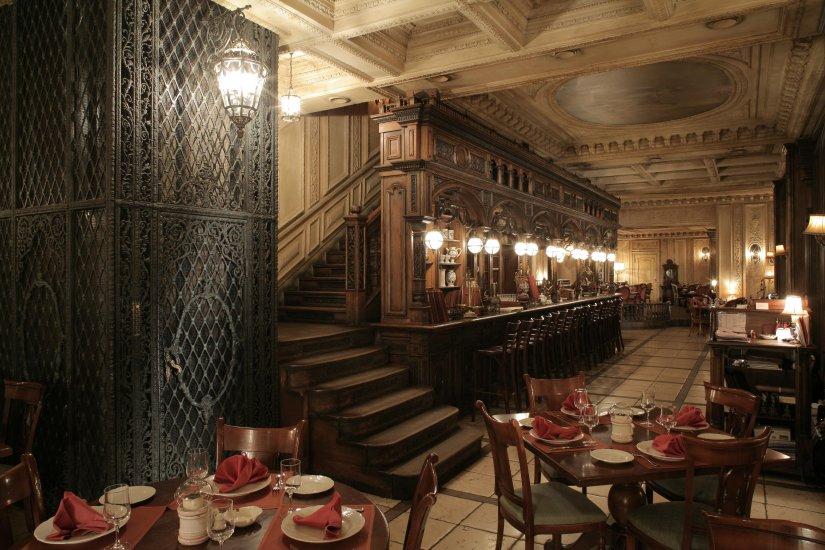 Cafe Pushkin 1 Restaurants Moscow