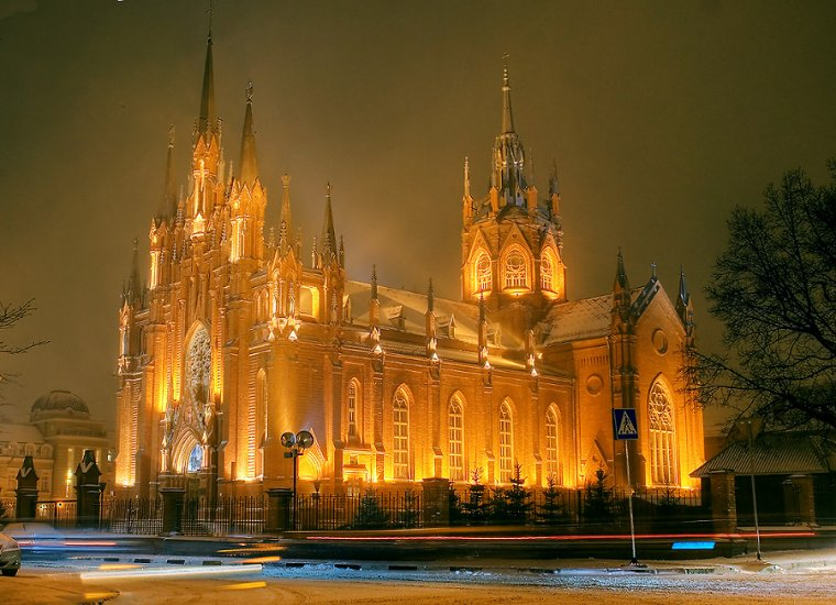 Catholic Cathedral Of The Immaculate Conception