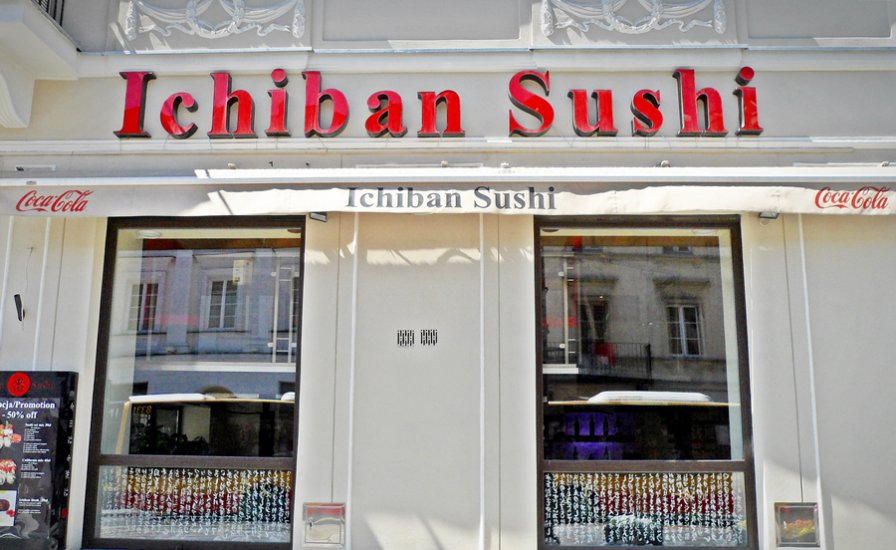 Small sushi bar