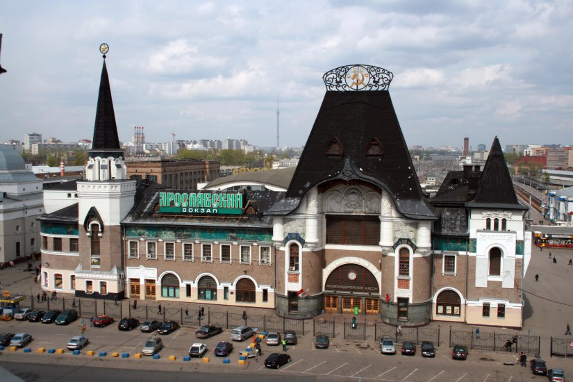 Image result for yaroslavl train station