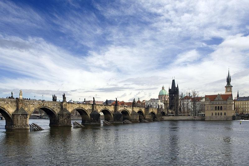 Charles Bridge Sightseeing Prague