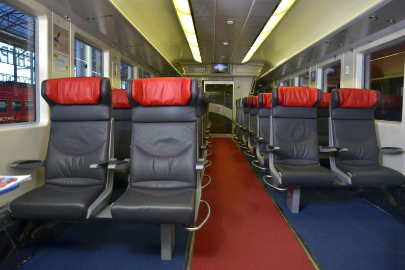 Aeroexpress Trains Getting There Moscow