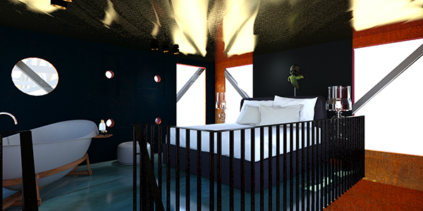 the faralda ndsm crane hotel amsterdam hotels amsterdam. Black Bedroom Furniture Sets. Home Design Ideas