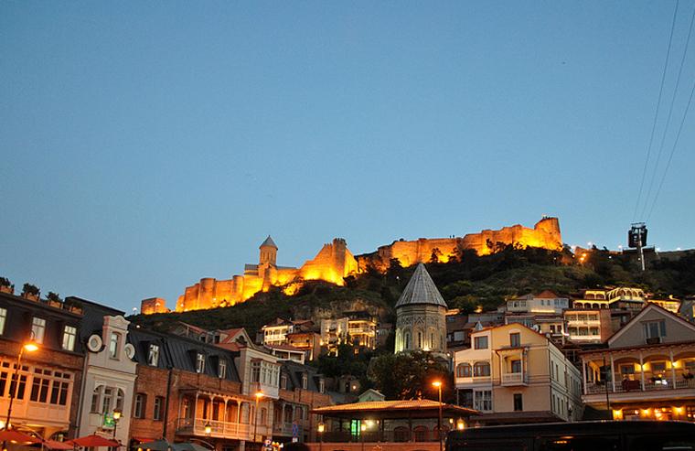 Narikala Fortress Sightseeing Tbilisi