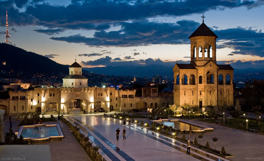 The Holy Trinity Cathedral Of Tbilisi Sightseeing Tbilisi City Guide