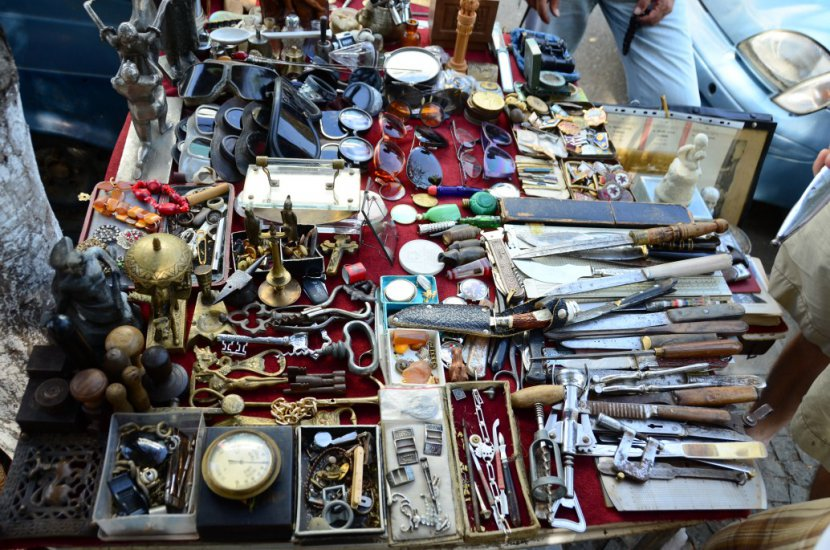 Georgia Tbilisi Flea Market Stock Photos Georgia Tbilisi: Dry Bridge Bazaar