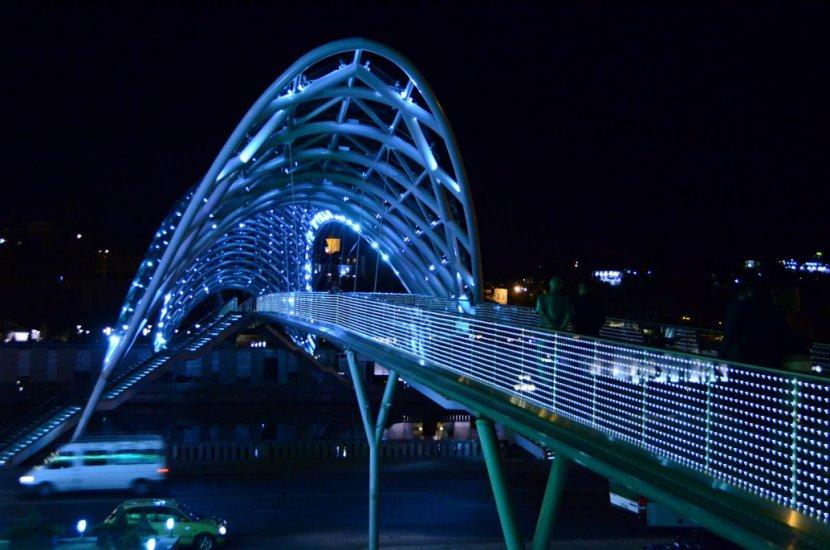 Peace Bridge Sightseeing Tbilisi