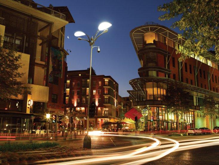 Melrose Arch Shopping Malls Johannesburg